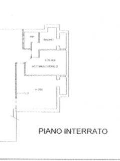 Planimetria piano interrato